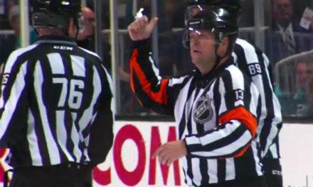 Mic'd Up: Referee Dan O'Halloran at Sharks/Blues Game 4