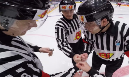 Behind-the-Scenes with IIHF Referee Martin Frano