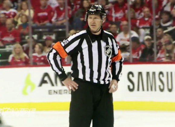 Mic'd Up: Referee Steve Kozari at Pens/Caps