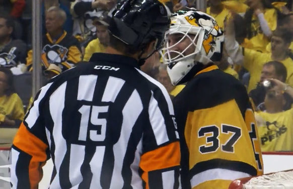 Mic'd Up: Refs in Round 1 of the Stanley Cup Playoffs
