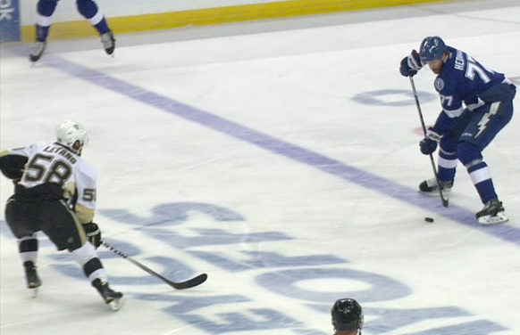 Lightning Goal Ruled Offside After Coach's Challenge