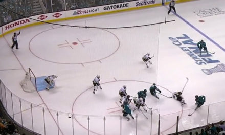 Karlsson's Penalty Leads to Pens GWG; Did Fehr Flop?