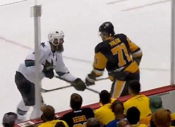 Penalty Playback: Sharks/Penguins Cup Final Game 1