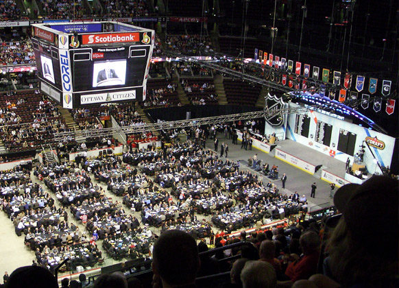 NHL Referees and Linesmen Selected in NHL Draft