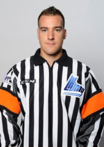 Referee Pierre Lambert