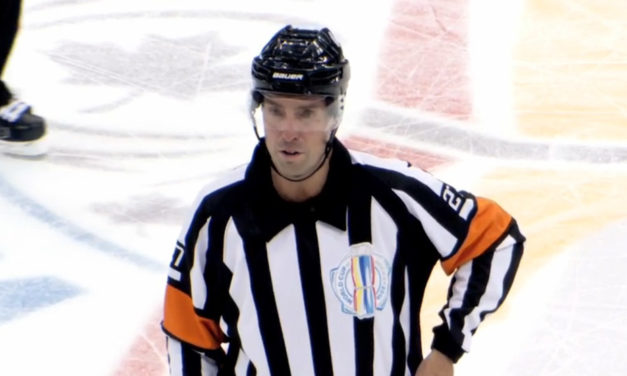 Mic'd Up: Referee Eric Furlatt at the World Cup of Hockey