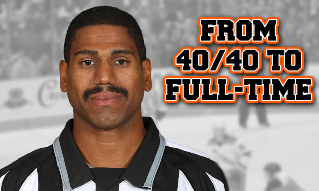 Color of Hockey: From 40/40 to Full-Time, Alphonso Earns His Stripes