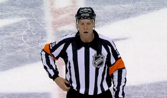 Tonight's NHL Referees & Linesmen – 11/1/16