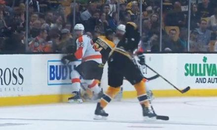 Flyers' Gudas Suspended Six Games For Hit On Bruins Czarnik