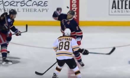 Bruins Pastrnak Suspended 2 Games for Hit to Head of Rangers' Girardi