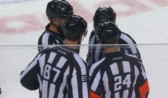 Tonight's NHL Referees & Linesmen – 10/29/16