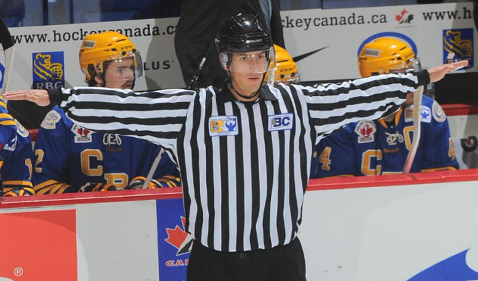 Linesman Bevan Mills to Make NHL Debut