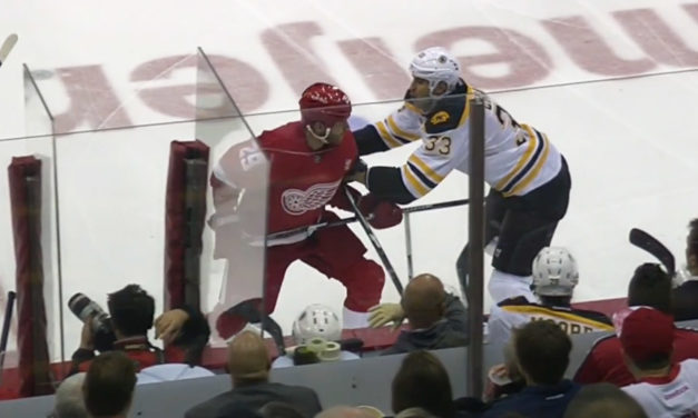 Wings' Ott Fined for Spearing