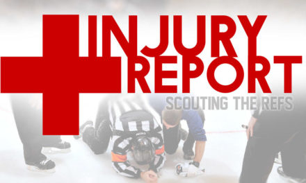 NHL Officials Injury Report – 1/8/17