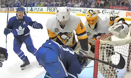 Ref Cam: Penguins at Leafs