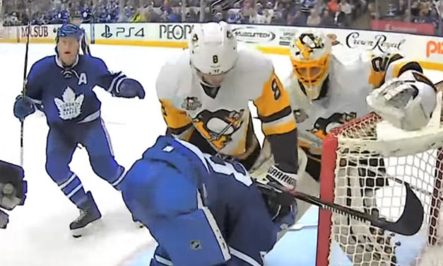 Ref Cam: Penguins at Leafs