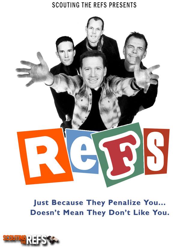 NHL All-Star Refs Movie Posters - REFS