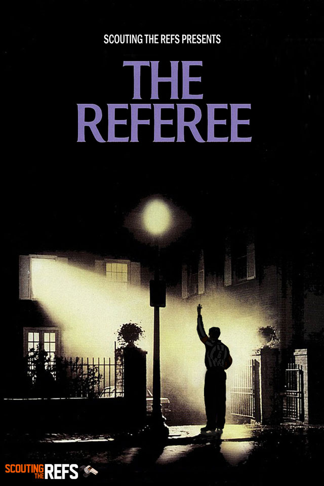NHL All-Star Refs Movie Posters - The Referee
