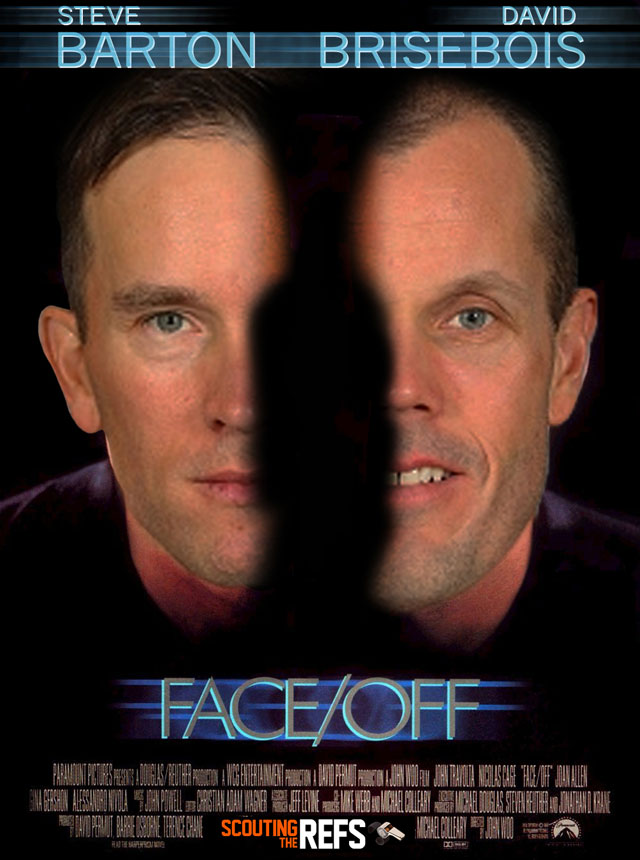 NHL All-Star Refs Movie Posters - Faceoff