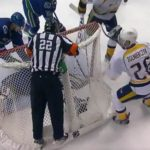 Preds' Goal Waved Off For 'Intent to Blow'