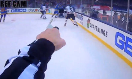Winter Classic Ref Cam Highlights