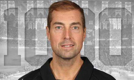 Referee Eric Furlatt Honored for 1000 Games