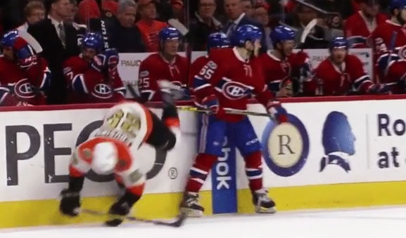 Habs' Shaw Benched After Penalty