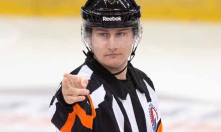AHL Referee Geno Binda Retires