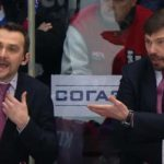 KHL Coach Ejected, Blames Assistant for Throwing Water Bottle
