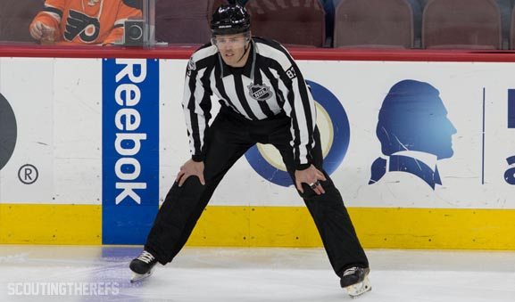 Tonight's NHL Referees and Linesmen – 3/19/18