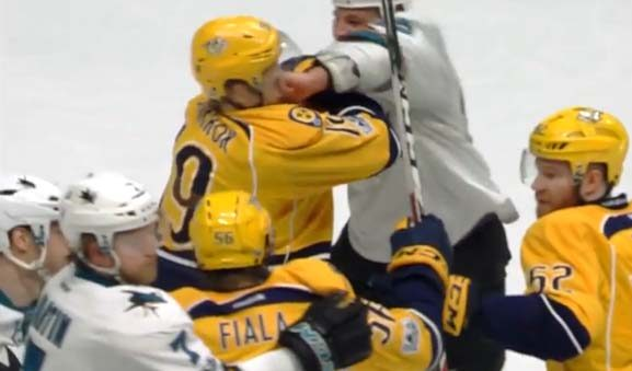 Sharks' Haley Faces Suspension for Sucker Punch
