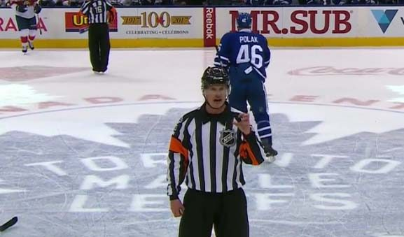 Refs Recall Polak Penalty After Discussion, Review