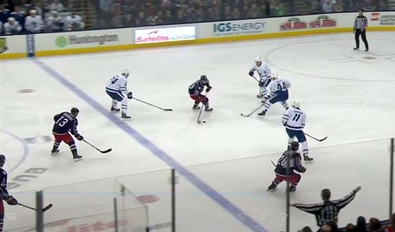 Toronto Kills Extra-Long Penalty After Failing to Put Player in Box