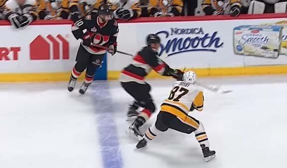 No Suspension Deserved for Crosby After Finger-Shattering Slash