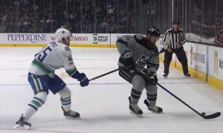 Flames' Gaudreau and Kings' Muzzin Fined for Diving