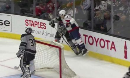 Caps' Shattenkirk Suspended 2 Games for Charging