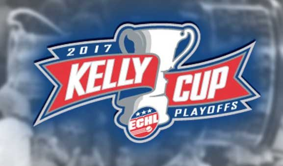 Today's ECHL Playoff Referees & Linesmen – 5/3/17