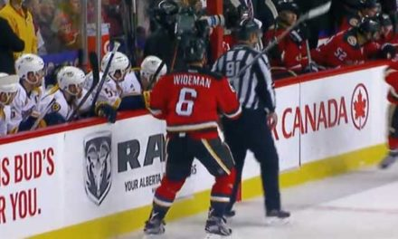 Linesman Don Henderson Files $10M Lawsuit Against Flames' Dennis Wideman