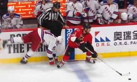 Rangers' Vigneault Questions Non-Call on Sens' Game-Winner