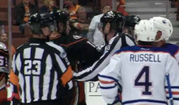 Mic'd Up: Referee Brad Watson, Linesman Pierre Racicot – Oilers/Ducks Game 1