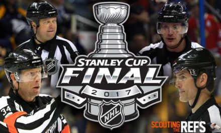 Tonight's NHL Stanley Cup Final Referees & Linesmen – Game 3 – 6/3/17