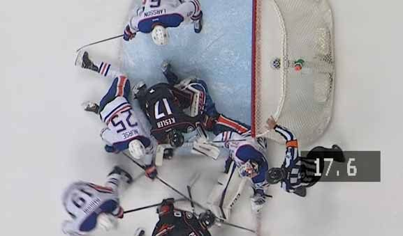 Oilers Cry 'Fowl' for Interference on Ducks Game 5 Goal
