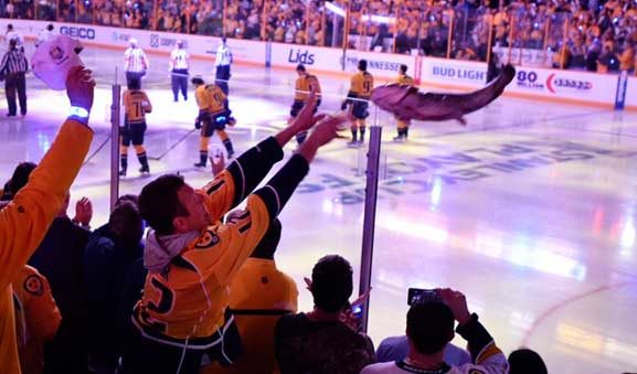 Penalties On Ice for Predators' Catfish in Stanley Cup Playoffs