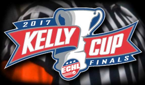 Today's ECHL Kelly Cup Final Referees & Linesmen – 6/5/17