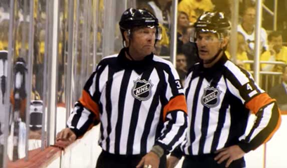 Tonight's NHL Referees and Linesmen – 3/20/18
