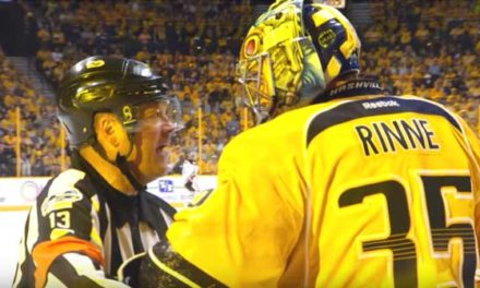 Mic'd Up: NHL Refs for 2017 Conference Finals
