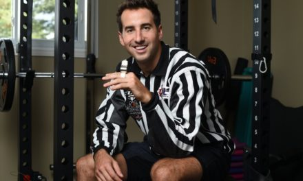 Linesman Andrew Smith to Make NHL Debut in Season Opener