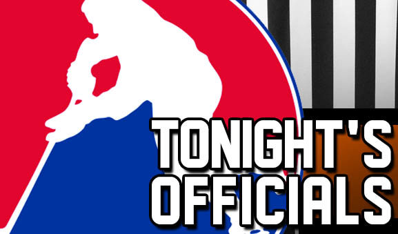 Tonight's AHL Referees and Linesmen – 12/18/17