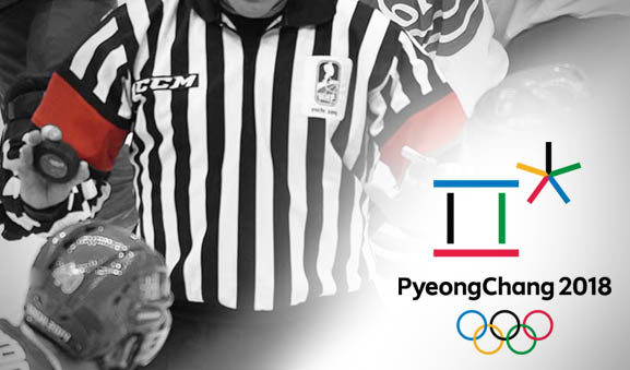 Tonight's Olympic Hockey Referees and Linesmen – 2/19/18