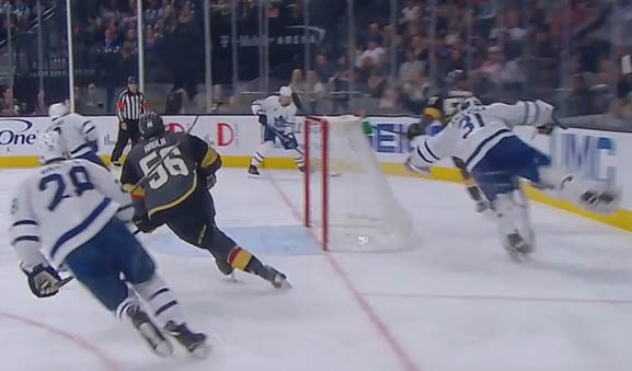 Leafs' Andersen Fined for Diving/Embellishment